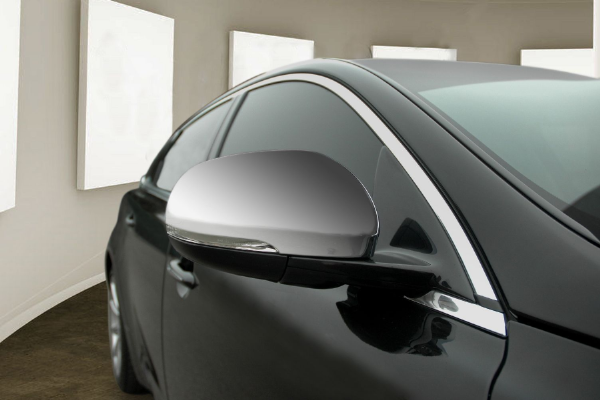 Jaguar XF Chrome Mirror Covers  After 2009 Models